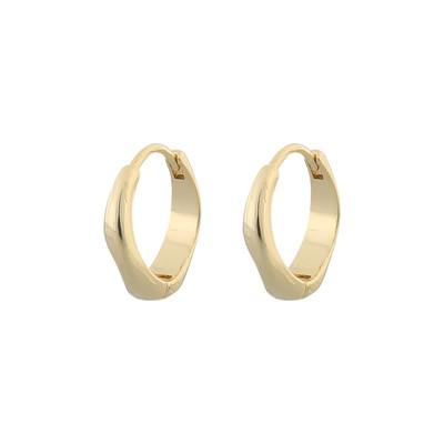 Blanche Oval Earring