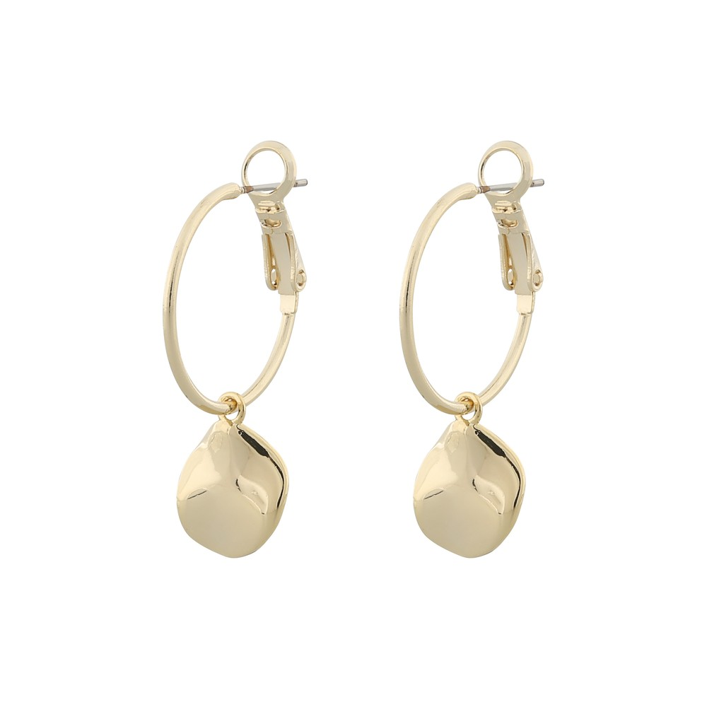 Blanche Ring Earring