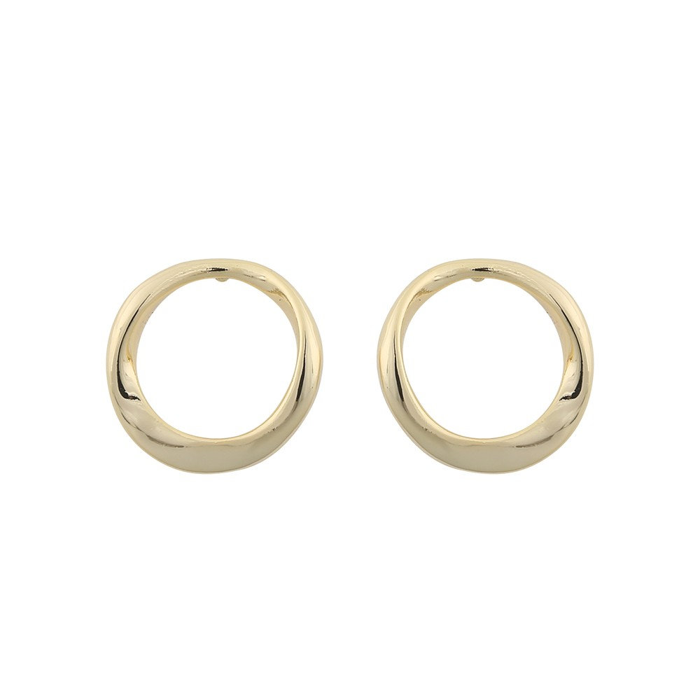 Blanche Round Earring