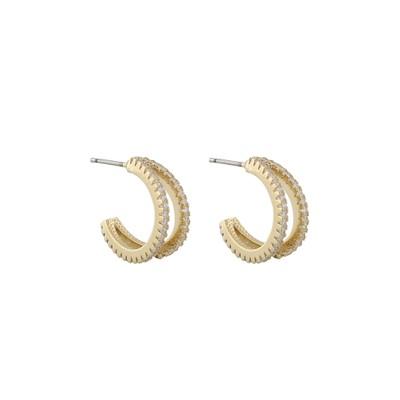 Hanni Double Ring Earring