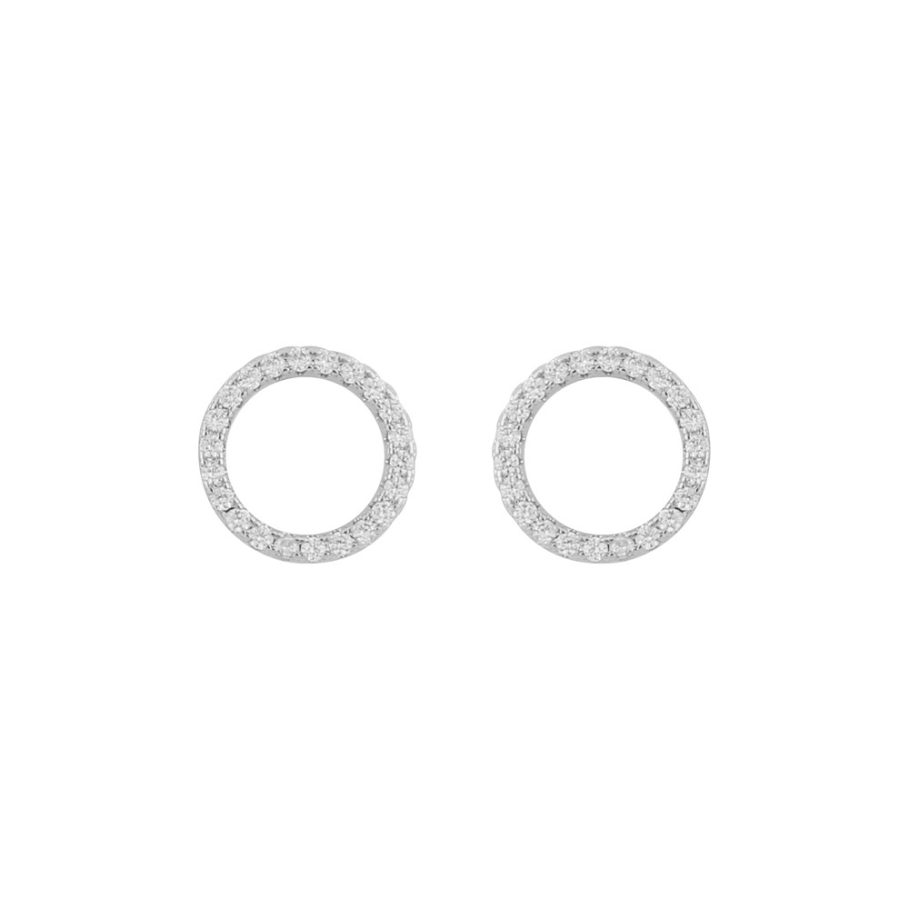 Hanni Round Earring