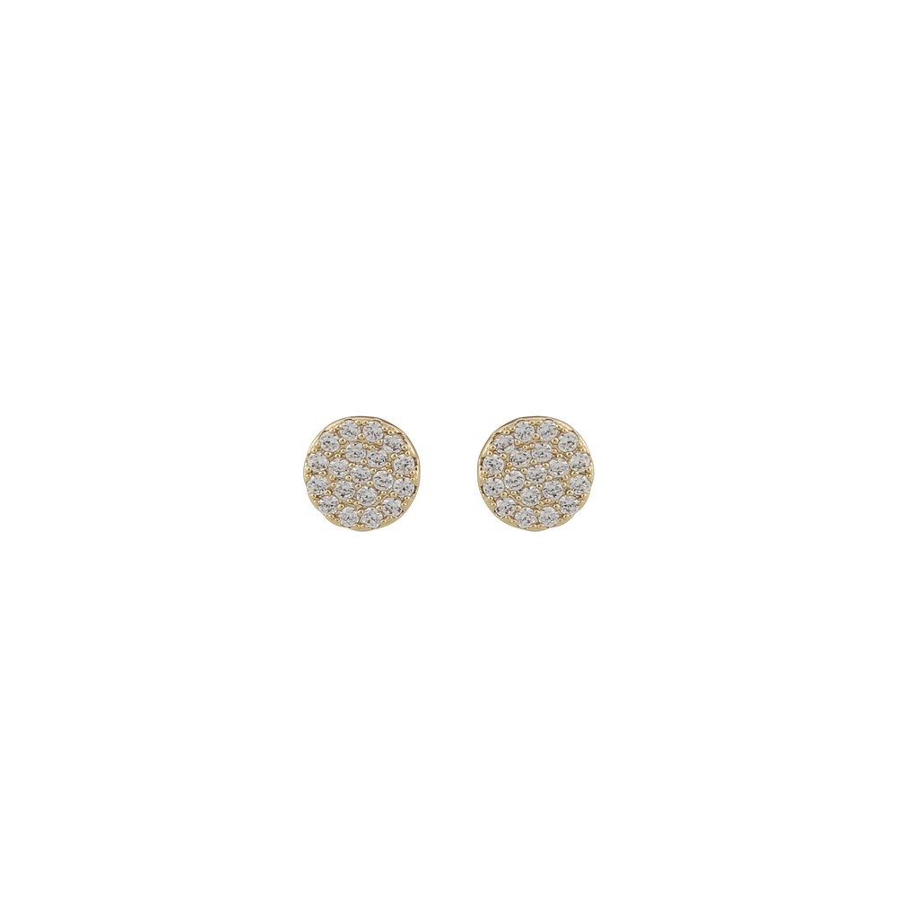 Hanni Small Coin Earring