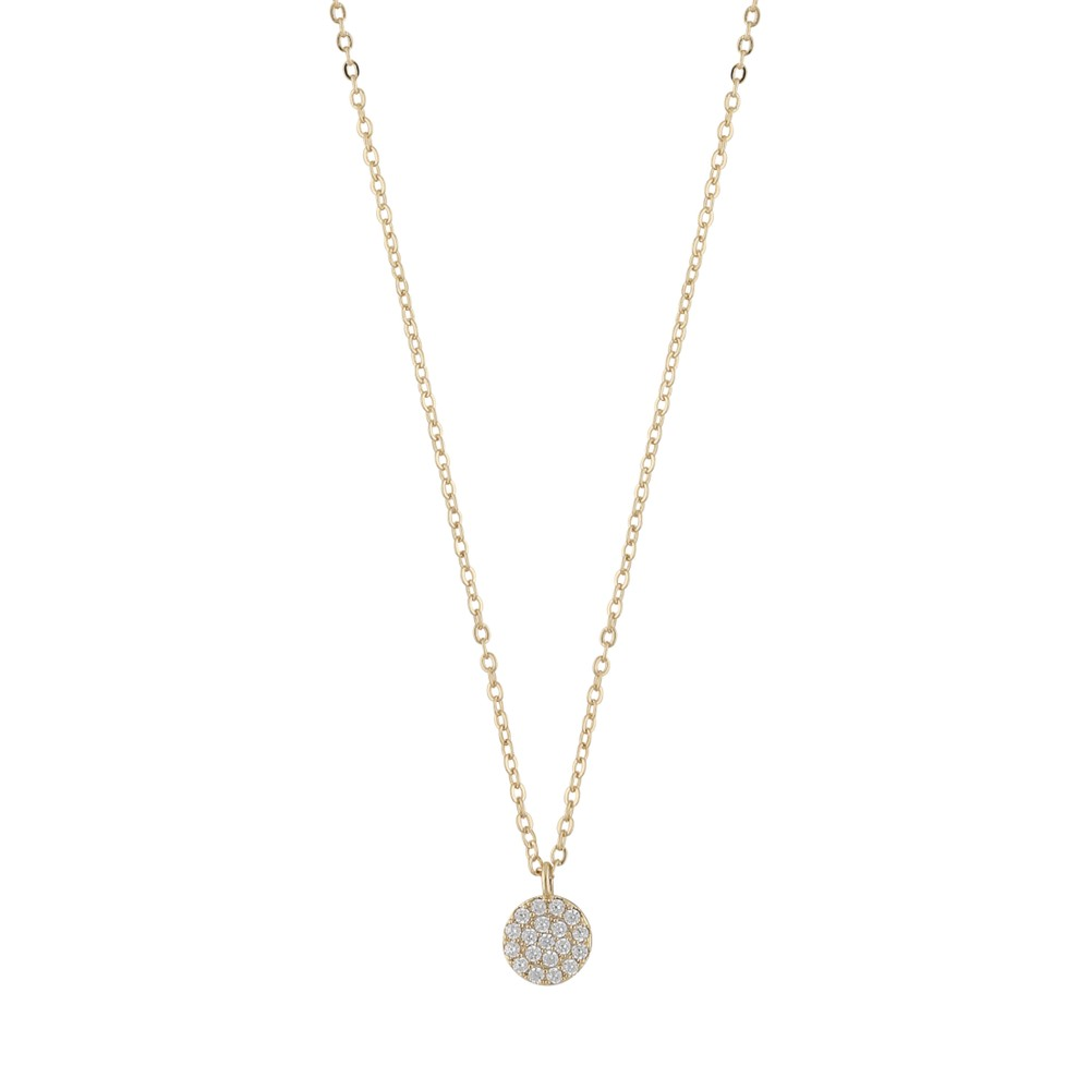 Hanni Small Coin Pendant Necklace
