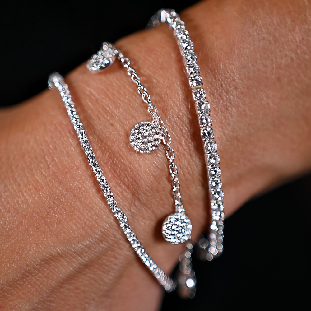 Hanni Small Elastic Stone Bracelet