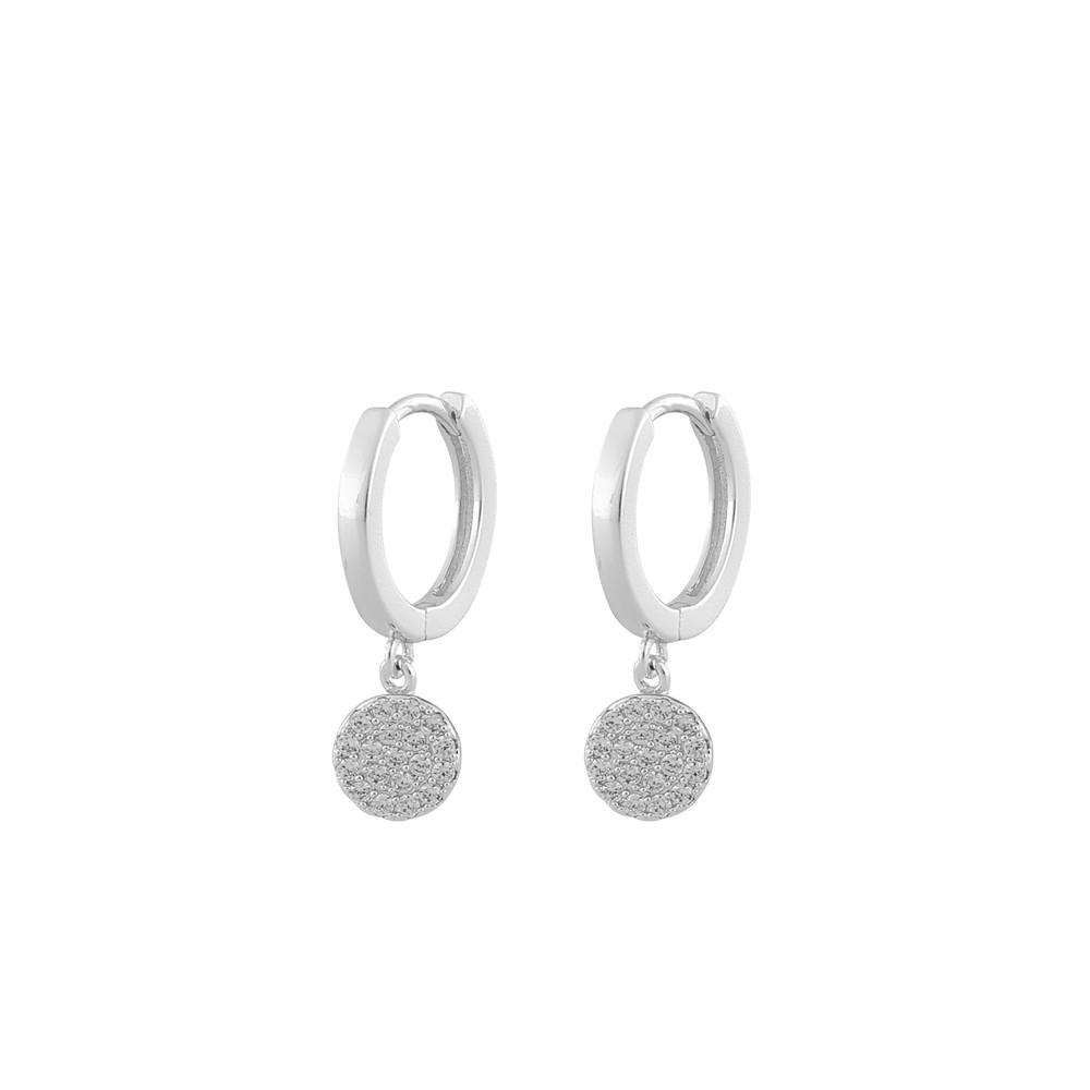 Hanni Small Ring Pendant Earring