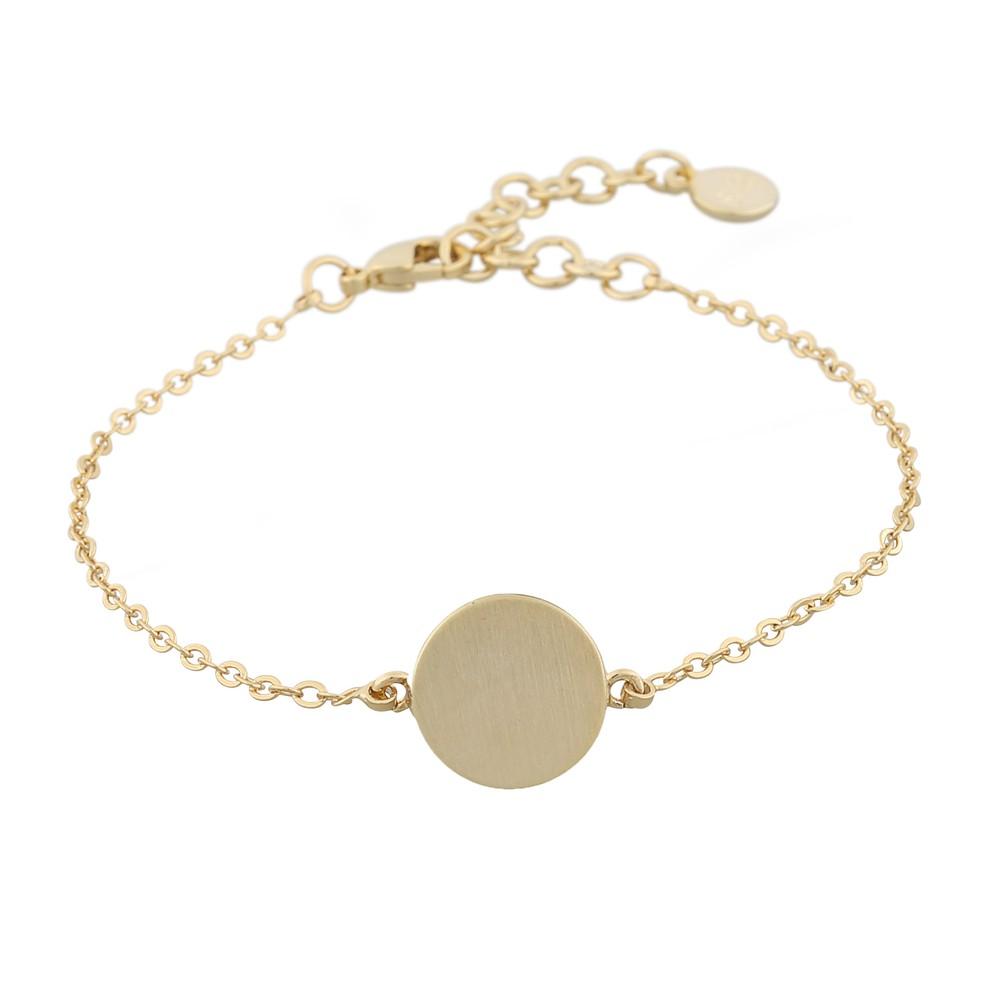 Shy Coin Charm Bracelet