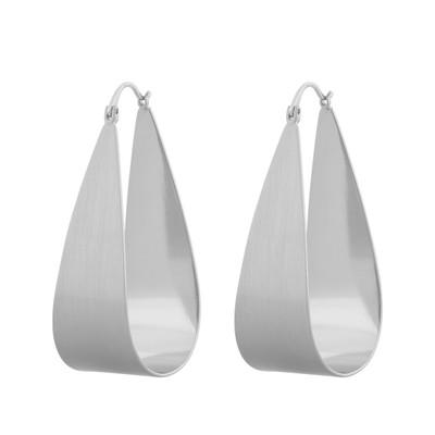 Shy Drop Oval Earring