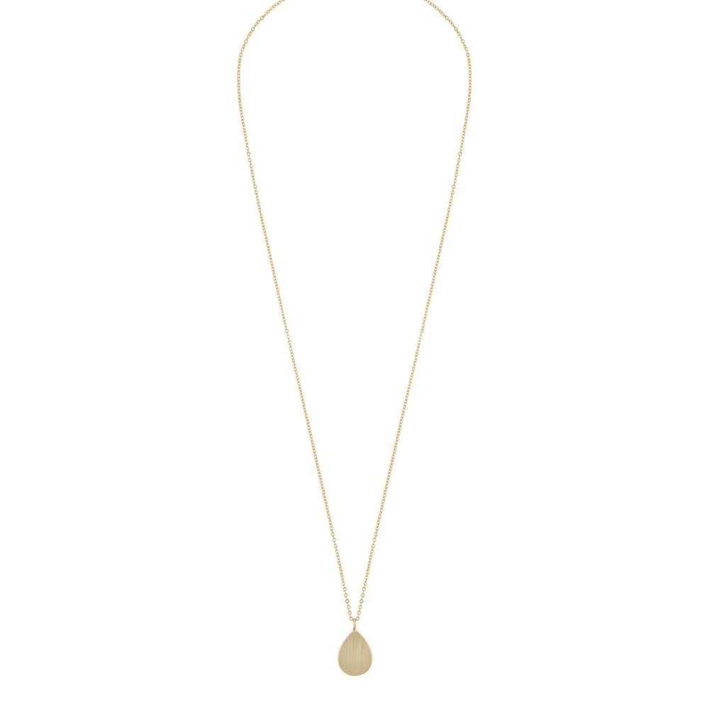 Shy Drop Pendant Necklace
