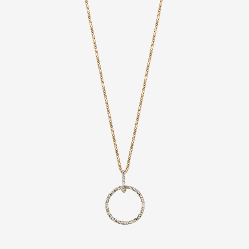 Sue Ring Pendant Necklace