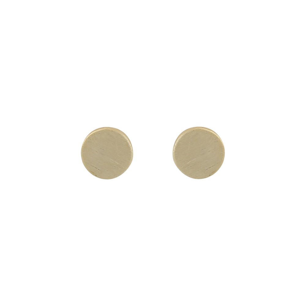 Shy Small Coin Earring