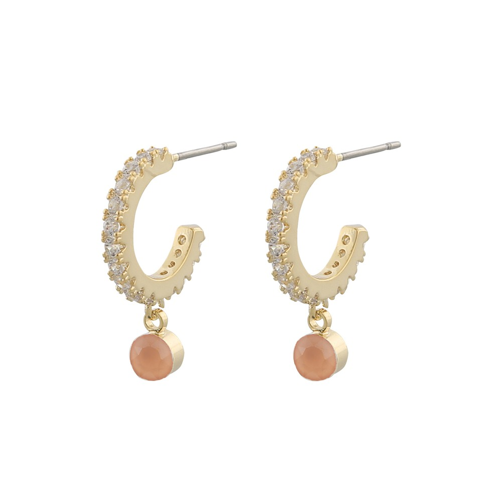 Shy Small Ring Earring