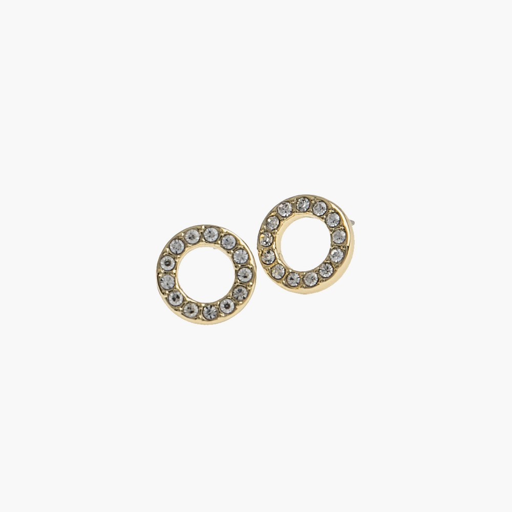 Small Coin Ring Earring