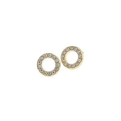 Spark Small Coin Ring Earring