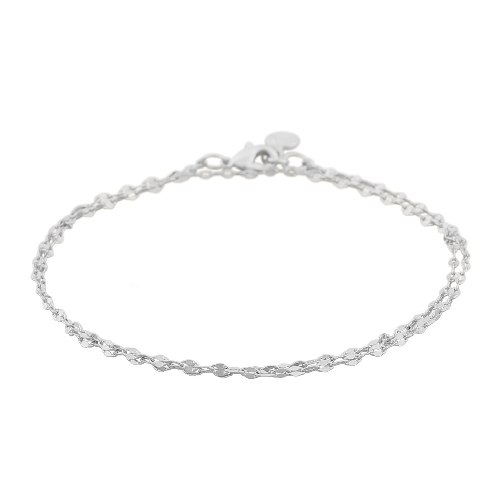 Stine Double Chain Bracelet