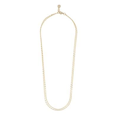 Stine Double Chain Necklace