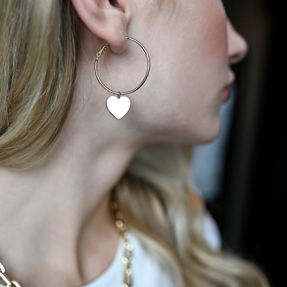Vital Ring Earring