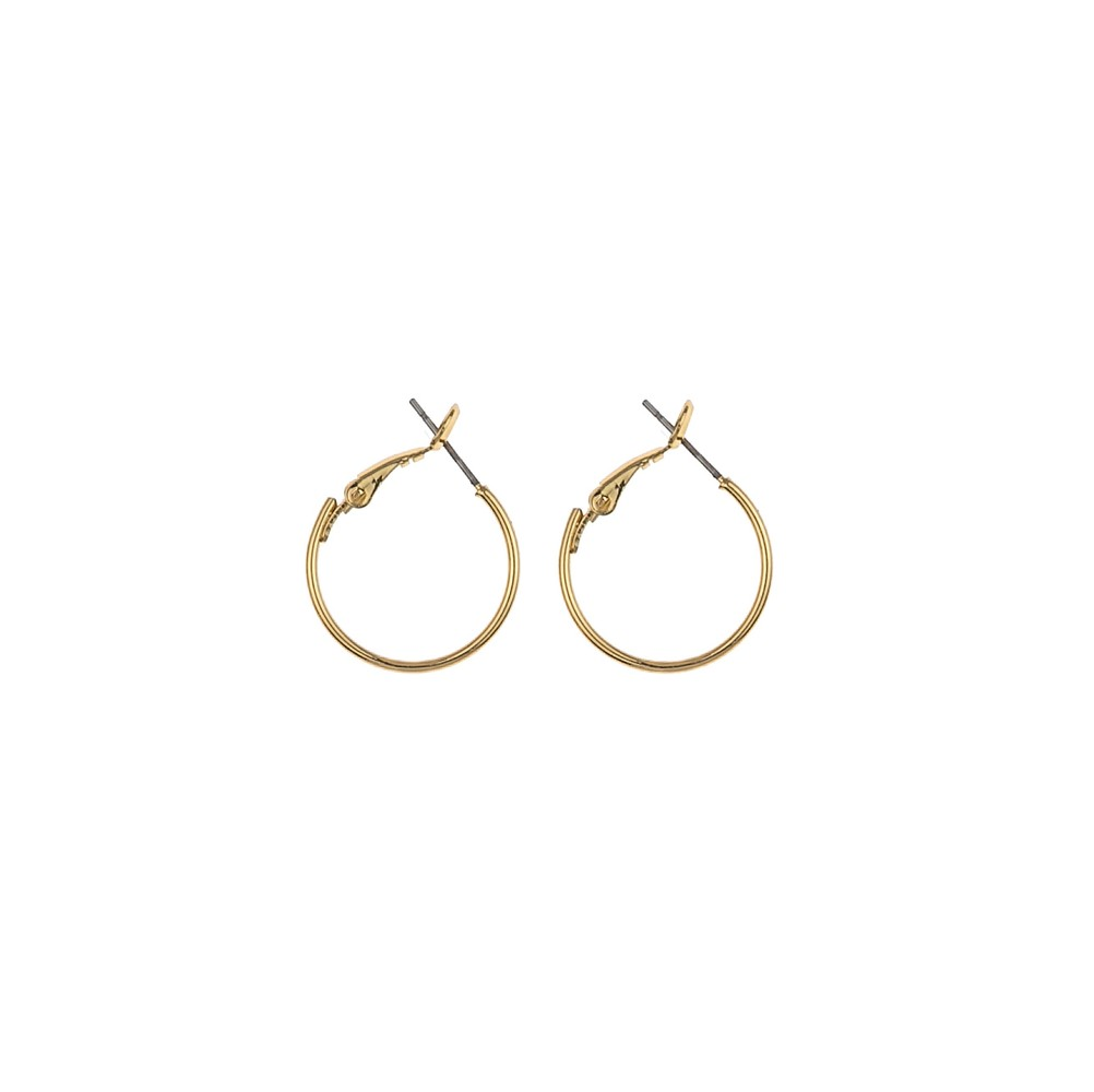 Mystic Small Ring Earring Gold