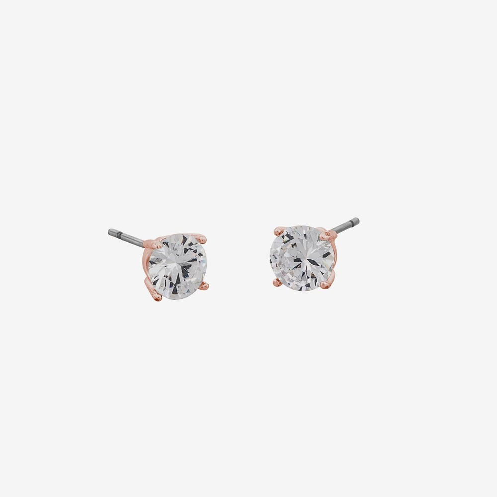 Sue Stone Earring Rosé/Clear