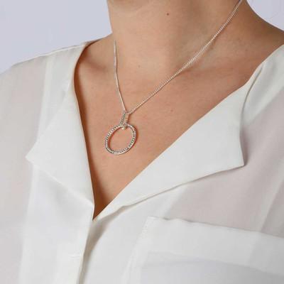 Sue Ring Pendant Necklace
