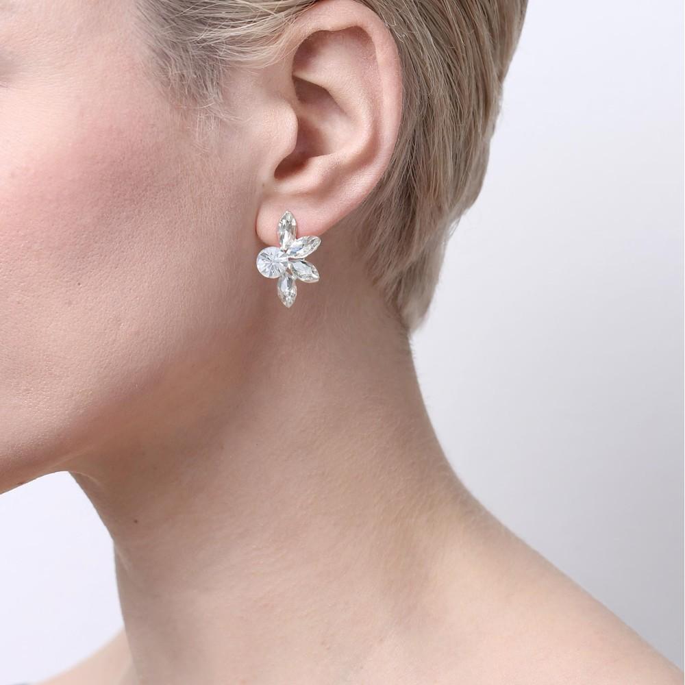 Cream Earring